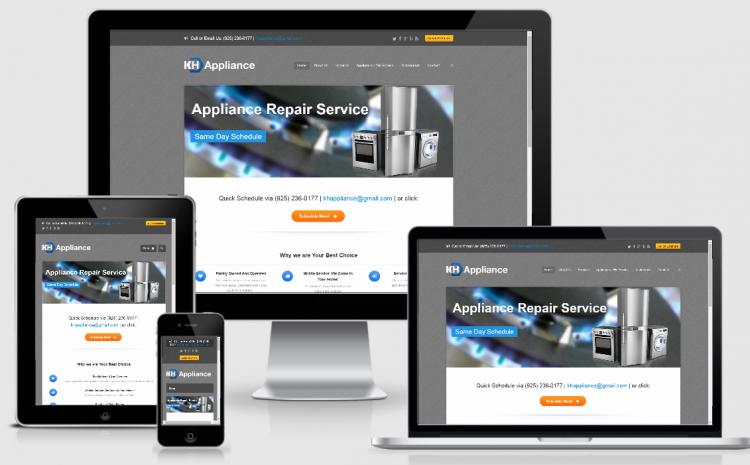 appliance repair portfolio
