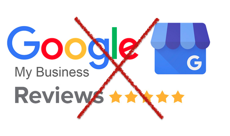 no google reviews allowed due to corona virus covid-19